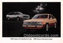 1982 Citation X11 Hatchback Coupe, Chevy