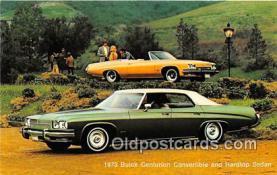 1973 Buick Centurion Convertible & Hardtop Sedan
