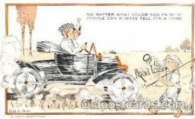 aut200005 - Artist Cobb Shinn, Postcard Post Card