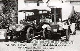 1907 Rolls Royce & 1914 Mercer Racebout