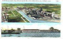 aut300008 - River House Plant Building, Ford Motor CompanyAuto Automotive Factory Postcard Post Card