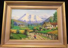 moncayo1 - Artist Emilio Moncayo (1895 - 1970) Born in Quito Ecador, became one of the most important South American Artist of his Generation.