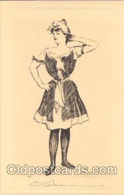 Charles Dana Gibson (USA) Postcard Post Card