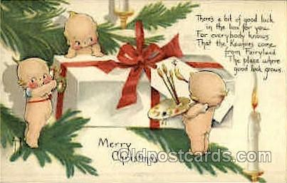 Rose ONeill Kewpies Postcard Post Card