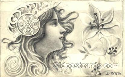 Artist Patella Postcard Post Card