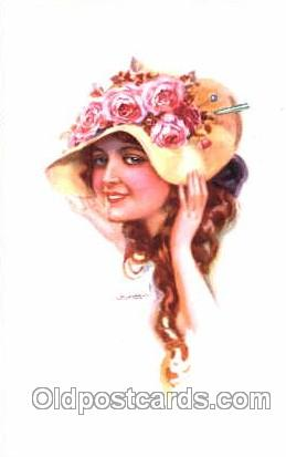 series 301/4 Artist Lottie Usabel (Italian) Postcard Post Card