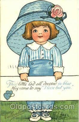 Artist M.G. Hays Postcard Post Card