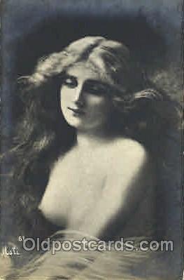 art000065 - Artist Asti, nude Postcard Post Card