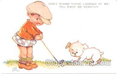 art001036 - Artist Mabel Lucie Attwell (Great Britain) Postcard Post Card