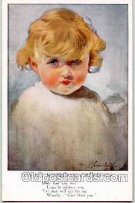 art004014 - Artist L. Barribal (Great Britian) Postcard Post Card