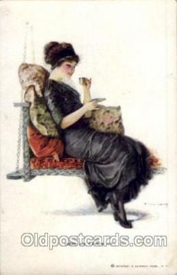 art009122 - Earl Christy Postcard Post Card