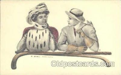 art009142 - Artist Earl Christy, Postcard Post Card