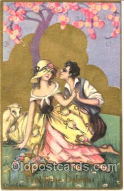 art010047 - Artist Sofia Chiostri, also known as (Fofi), (Italy) Postcard Post Card