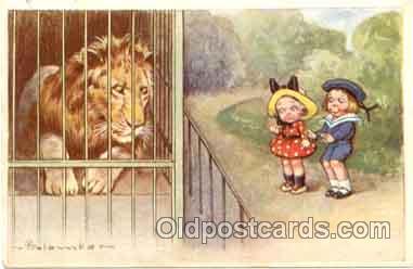 art011027 - Artist E. Colombo Postcard Post Card