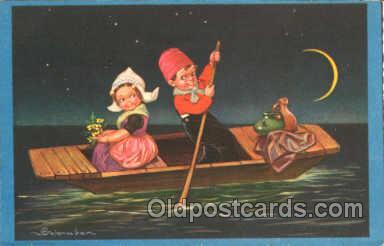 art011038 - Artist E. Colombo Postcard Post Card