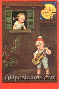 Artist E. Colombo Postcard Post Card
