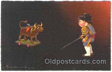 art011061 - Artist E. Colombo Postcard Post Card