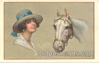 art011077 - Artist E. Colombo Postcard Post Card