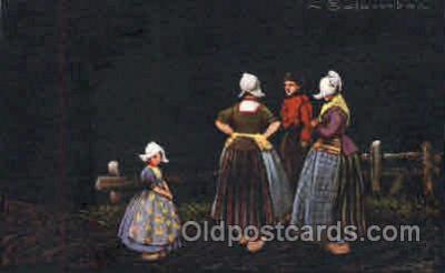 art011158 - Artist E. Colombo Postcard Post Card