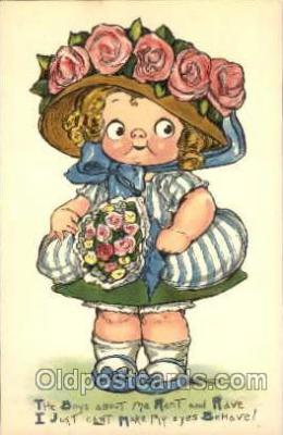 art014018 - Grace Drayton; Wiederseim Postcard