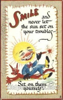Series No. 169 Smiles Artist Dwig, C.V. Dwiggins (US) Postcard Post Card