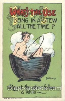 art015235 - Whats The Use Artist Dwig, C.V. Dwiggins (US) Postcard Post Card