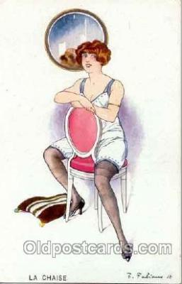 art017004 - Artist F. Fabiano (France) Postcard Post Card