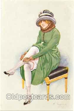 art017010 - Artist F. Fabiano (France) Postcard Post Card