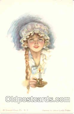 art018024 - Artist Alice Luella Fidler (USA) Postcard Post Card