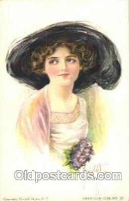 art018075 - Artist Alice Luella Fidler Postcard Post Card