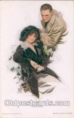 art021040 - Artist Harrison Fisher (USA) Postcard Post Card
