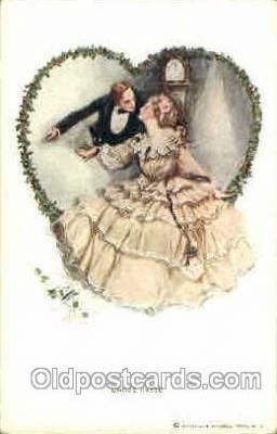 art021176 - Harrison Fisher Postcard Post Card
