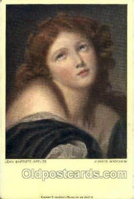art023 - Artist Jean Baptiste Greuze