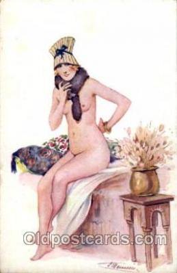 Artist Suzanne Meunier Postcard Post Card