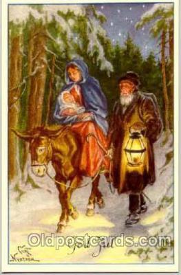 art051009 - Artist Curt Nystrom Postcard Post Card