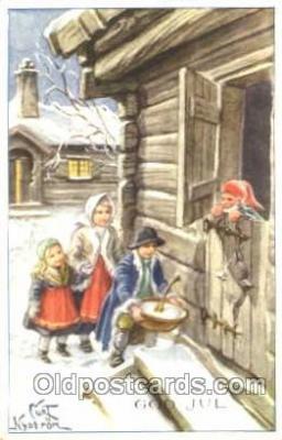 art051054 - Artist Curt Nystrom Postcard Post Card