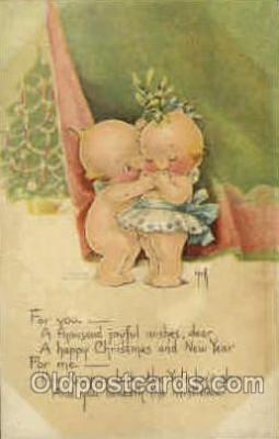 art053018 - Rose O'Neill Kewpies Postcard Post Card