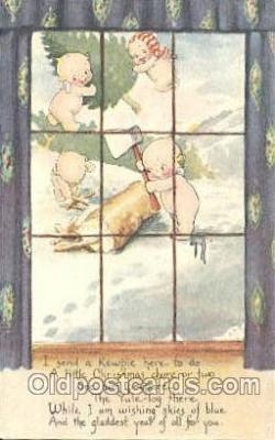 Artist Rosie ONeill, Kewpie Postcard Post Card