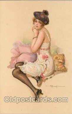 art057008 - Artist Albert Penot (France) Postcard Post Card