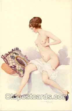 Artist Albert Penot (France) Postcard Post Card