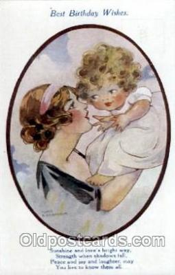art066006 - series 1961 Artist Agnes Richardson Postcard Post Card