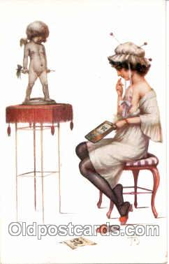 art078017 - Artist Jean Tam (France) Postcard Post Card