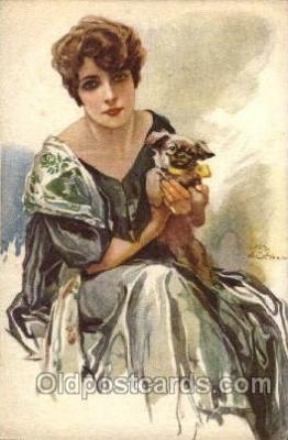 series 262-6 Artist Terzi Postcard Post Card