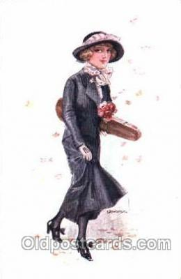 series 316/4 Artist Lottie Usabel (Italian) Postcard Post Card