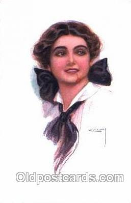 series 333/3 Artist Lottie Usabel (Italian) Postcard Post Card