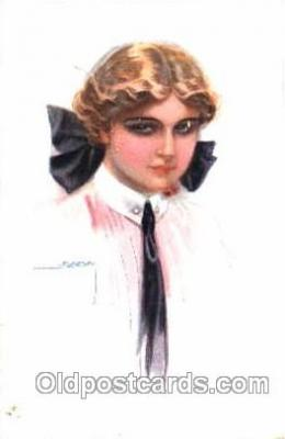 series 333/5 Artist Lottie Usabel (Italian) Postcard Post Card