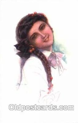 series 333/2 Artist Lottie Usabel (Italian) Postcard Post Card