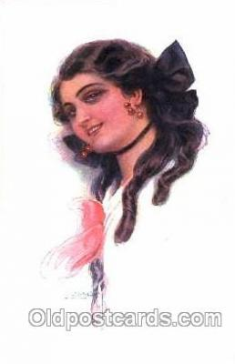 series 333/1 Artist Lottie Usabel (Italian) Postcard Post Card