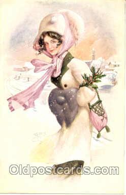 art100056 - Artist W.H. Braun Postcard Post Card series 22-49