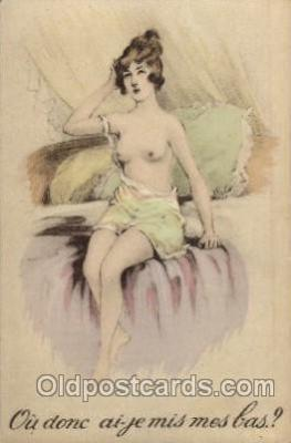 Nude Postcard Post Card